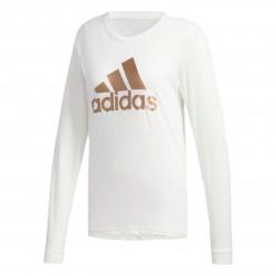 Adidas U4 Long Sleeve Shirt Női Felső (Fehér-Arany) GG3403