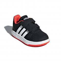 Adidas Hoops 2.0 CMF I Kisfiú Gyerek Cipő (Fekete-Piros) B75965