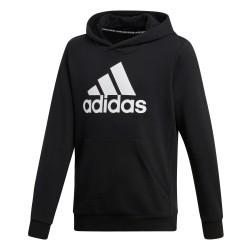 Adidas YB Must Haves BOS Pullover Fiú Gyerek Pulóver (Fekete-Fehér) DV0821