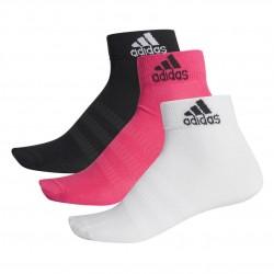 Adidas Light Ankle 3PP 3 Páras Zokni (Fekete-Rózsaszín-Fehér) DZ9437