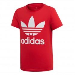Adidas Originals Big Trefoil Tee Fiú Gyerek Póló (Piros-Fehér) ED7795