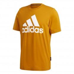 Adidas Must Haves Badge Of Sport Tee Férfi Póló (Sárga-Fehér) GC7347