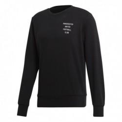 Adidas Manchester United SGR Sweatshirt Férfi Pulóver (Fekete) CF2343