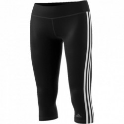 Adidas D2M 3/4 3 Stripes Tights 3/4-es Női Nadrág (Fekete-Fehér) BQ2045