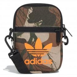 Adidas Originals Camo Festival Bag Kistáska (Zöld-Barna) FT9302