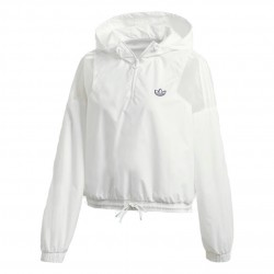 Adidas Originals Cropped Windbreaker Női Széldzseki (Fehér) FU3845