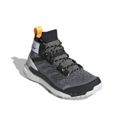 Adidas Terrex Free Hiker Parley Hiking Női Túra Bakancs (Fekete-Fehér) FV6895