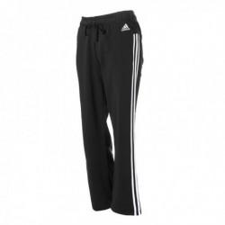 Adidas Essentials 3 Stripes Open Hem Slim Pants Női Nadrág (Fekete-Fehér) S97116