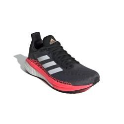 Adidas Solar Glide ST 3 Női Futó Cipő (Szürke-Rózsaszín) FV7252