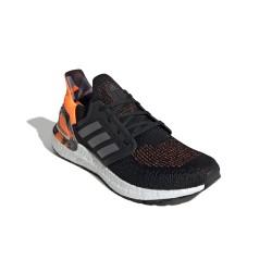 Adidas UltraBOOST 20 Férfi Futó Cipő (Fekete-Narancs) FV8322