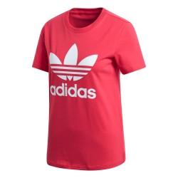 Adidas Originals Trefoil Tee Női Póló (Rózsaszín-Fehér) GD2312