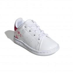 Adidas Originals Stan Smith EL I Lány Gyerek Cipő (Fehér-Pink) FW4493