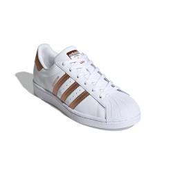 Adidas Originals Superstar W Női Cipő (Fehér-Bronz) FX7484