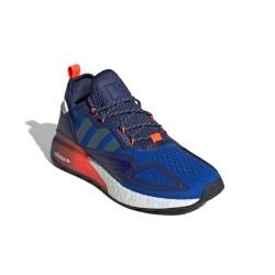 Adidas Originals ZX 2K BOOST Férfi Cipő (Sötétkék-Fehér) FX8836
