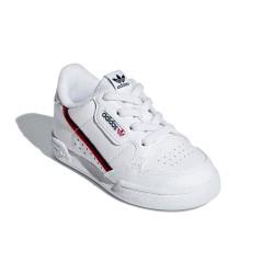 Adidas Originals Continental 80 EL I Uniszex Gyerek Cipő (Fehér-Fekete-Piros) G28218