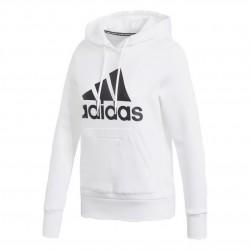 Adidas Badge Of Sport OH Hoodie Női Pulóver (Fehér-Fekete) GC6916