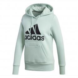 Adidas Badge Of Sport OH Hoodie Női Pulóver (Zöld-Fekete) GC6921