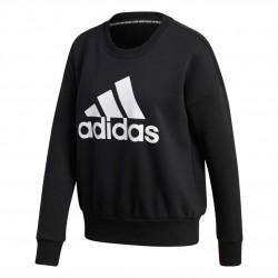 Adidas Badge Of Sport Crew Sweatshirt Női Pulóver (Fekete-Fehér) GC6925