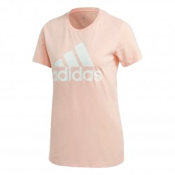 Adidas Must Haves Badge Of Sport Tee Női Póló (Barack-Fehér) GC6948