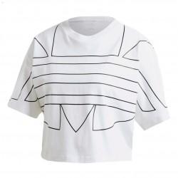 Adidas Originals Large Logo Tee Női Póló (Fehér-Fekete) GD2358