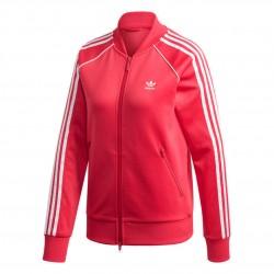 Adidas Originals Primeblue SST Track Jacket Női Felső (Rózsaszín-Fehér) GD2375