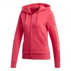 Adidas Essentials Linear Hoodie Női Pulóver (Rózsaszín) GD2967