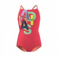 Adidas Y LIN 1PC Lány Gyerek Úszódressz (Rózsaszín-Színes) AJ7810