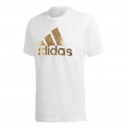 Adidas Athletics Graphic Tee Férfi Póló (Fehér-Arany) GE4700