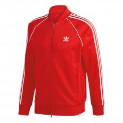 Adidas Originals Primeblue SST Track Jacket Férfi Felső (Piros-Fehér) GF0196