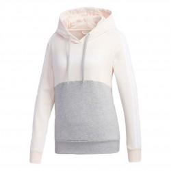 Adidas Essentials Colorblock Hoodie Női Pulóver (Barack-Szürke) GL6304