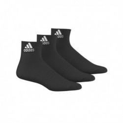 Adidas Performance Ankle Thin 3PP 3 Páras Zokni (Fekete) AA2321