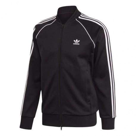 Adidas Originals Primeblue SST Track Jacket Férfi Felső (Fekete-Fehér) GF0198