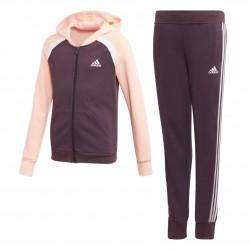Adidas Hooded Cotton Tracksuit Lány Gyerek Melegítő Együttes (Lila-Barack) GK3238