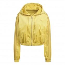 Adidas Originals Hooded Track Top Női Felső (Sárga) GU0827