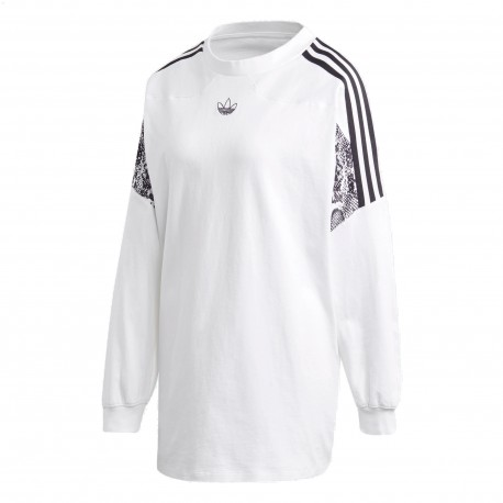Adidas Originals Sweatshirt Női Pulóver (Fehér-Fekete) GC6809