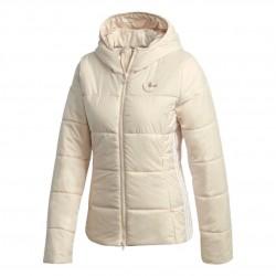 Adidas Originals Slim Jacket Női Kabát (Bézs-Fehér) GD2509