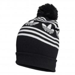 Adidas Originals Adicolor Jacquard Pompom Sapka (Fekete-Fehér) GD4597