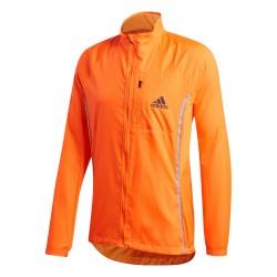 Adidas ADI Runner Jacket Férfi Futó Dzseki (Narancssárga-Fekete) FP8124