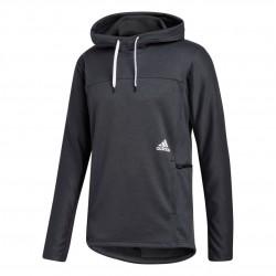 Adidas Performance City Fleece Hoodie Férfi Pulóver (Fekete-Fehér) GC8206