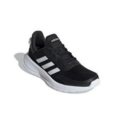 Adidas Tensaur Run K Uniszex Gyerek Futó Cipő (Fekete-Fehér) EG4128