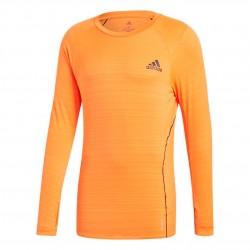 Adidas ADI Runner LS Top Férfi Futó Felső (Narancssárga) GC6730