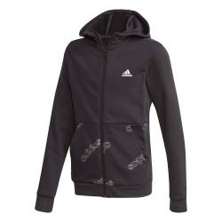 Adidas YB Favorites AOP FZ Fiú Gyerek Felső (Fekete-Fehér) GD6107