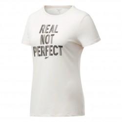 Reebok TE Graphic Tee-Real Tee Női Póló (Rózsaszín-Fekete) FU2198