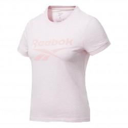 Reebok TE Texture Logo Tee Női Póló (Rózsaszín) FU2240
