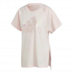 Adidas Glam On Aeroready Tee Női Póló (Rózsaszín) GL7206