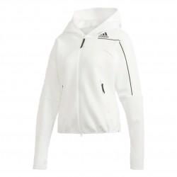 Adidas ZNE Hoodie Női Felső (Fehér-Fekete) GM3281