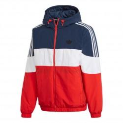 Adidas Originals SPRT Padded Jacket Férfi Kabát (Kék-Piros-Fehér) GE1285