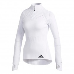Adidas Primeknit Training Sweatshirt Női Pulóver (Fehér) FT2690