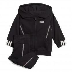 Adidas Originals R.Y.V. FZ Hoodie Set Kisfiú Bébi Együttes (Fekete-Fehér) GE0674