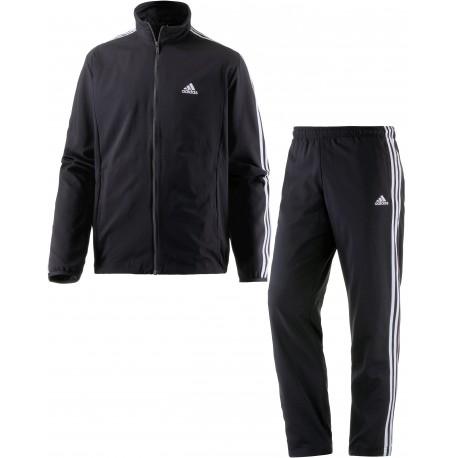Adidas OSR M PES 3S TS Férfi Melegítő Együttes (Fekete-Fehér) FT1416
